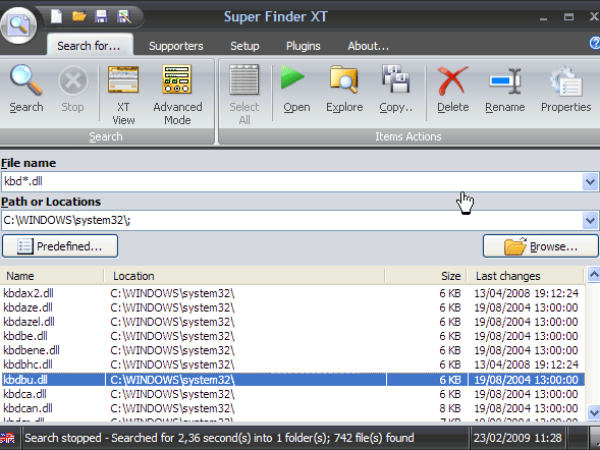 Super Finder XT