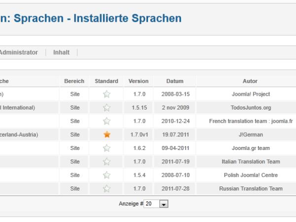 Joomla! 1.7.0