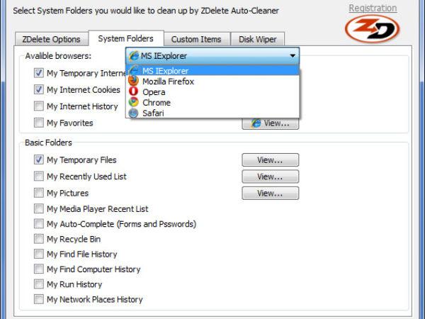 ZDelete Internet Eraser 7.1.5