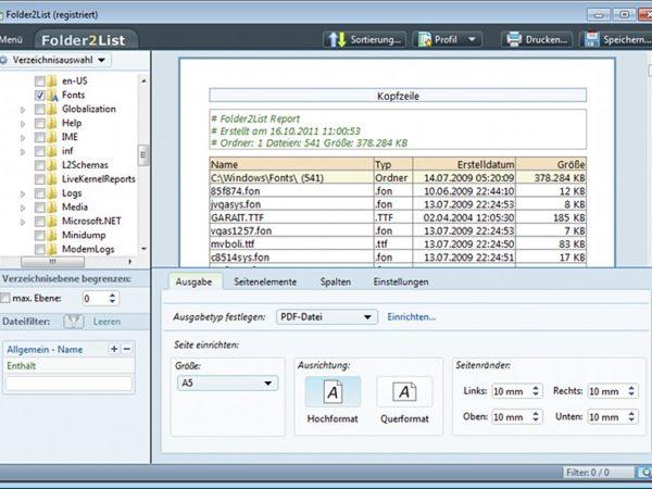 Folder2List 1.0