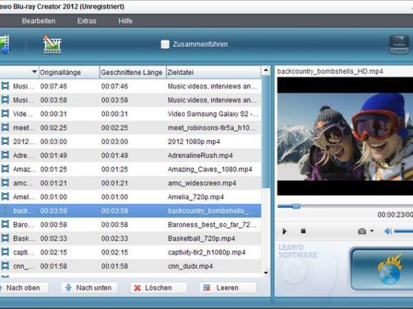 Leawo Blu-ray Creator 2012 V4.0.0.2