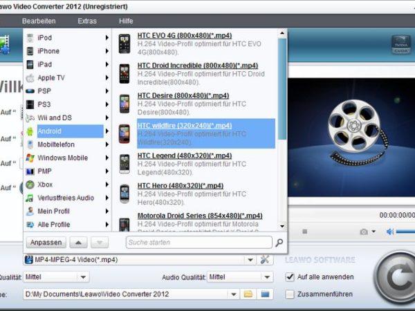 Leawo Video Converter 2012 V4.0.0.2