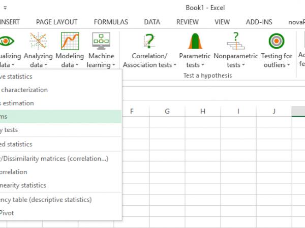 XLSTAT - Analyse- und Statistik-Add-In für Excel