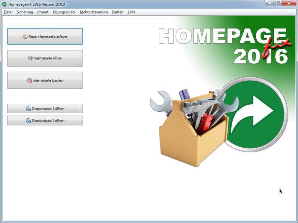 HomepageFIX 2016