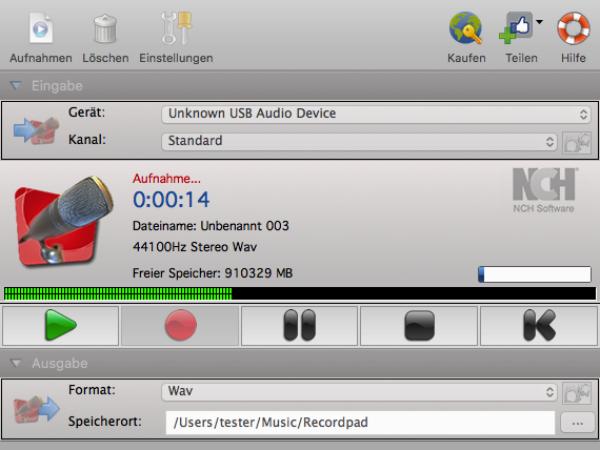 RecordPad Audio-Recorder