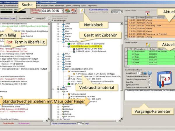 Geräteverwaltung DataTool