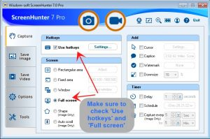 ScreenHunter 7 Free