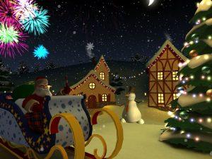 3d Weihnachtsbildschirmschoner