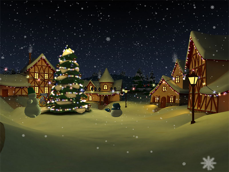 Download Christmas Holiday 3D Screensaver kostenlos bei NowLoad