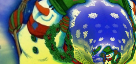 3D Christmas Tunnels screensaver