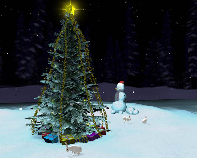 Download Free Christmas Tree 3D Screensaver kostenlos bei NowLoad