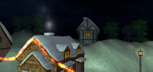 3D Christmas Land screensaver