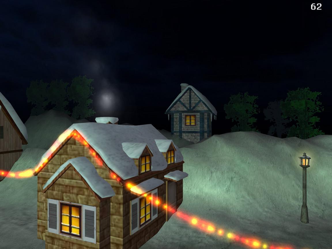 Download 3D Christmas Land screensaver kostenlos bei NowLoad