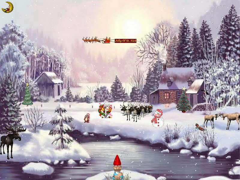 Download Christmas Adventure Screensaver kostenlos bei NowLoad