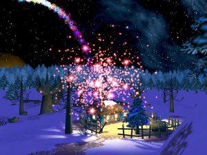 Christmas Night 3D Screensaver