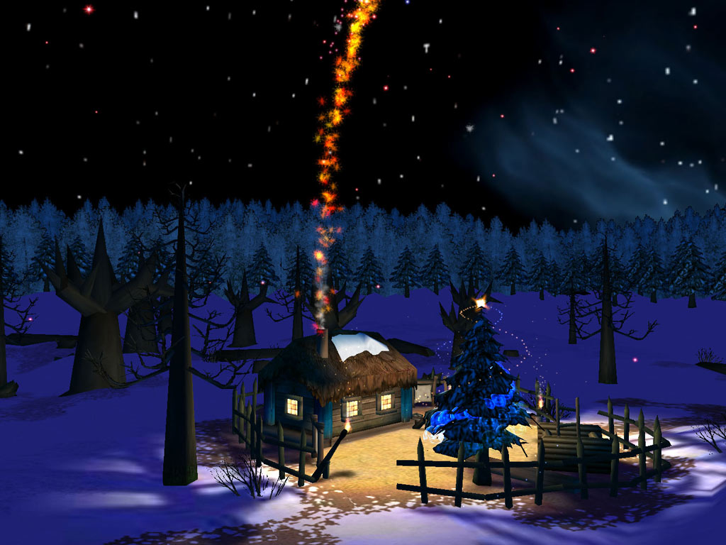 Download Christmas Night 3D Screensaver kostenlos bei NowLoad