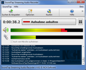 SoundTap Streaming Audio-Recorder