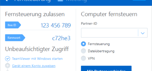 TeamViewer mainwindow