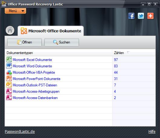 Download Office Password Recovery Lastic 1.0 Kostenlos Bei