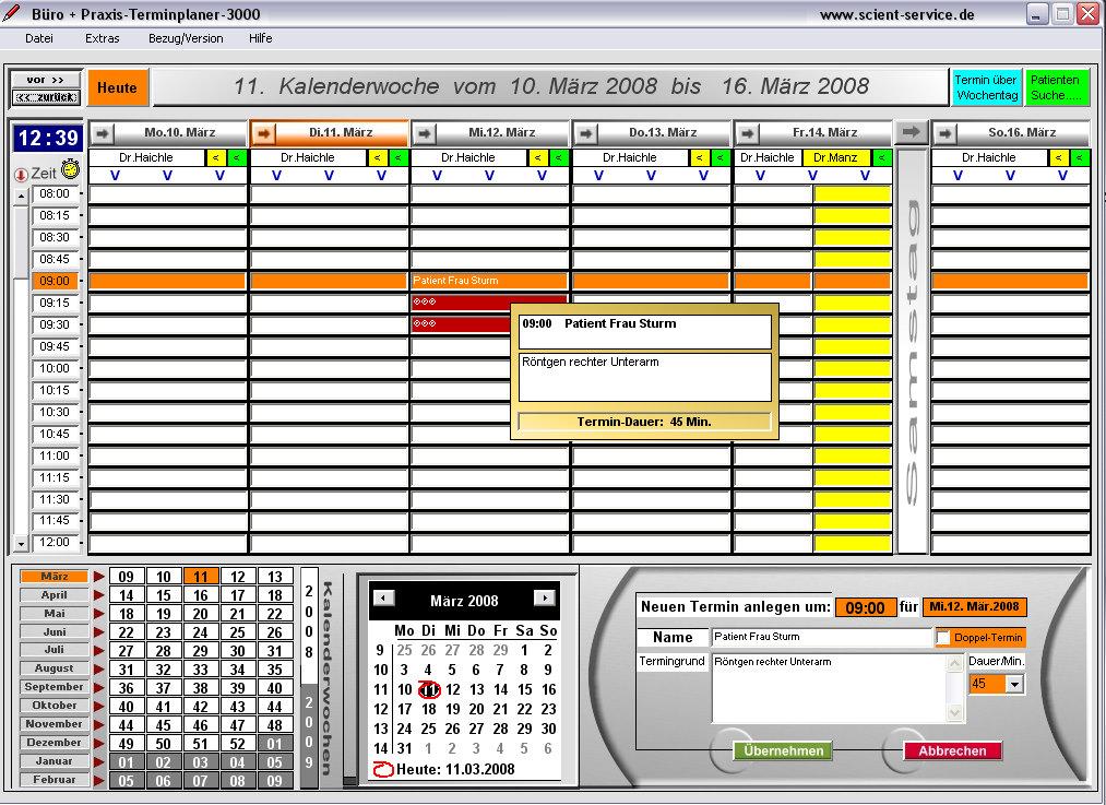 Download Terminplaner Fur Den Medizinischen Dienstleistungsbereich