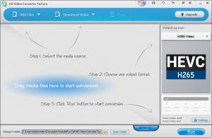 WonderFox Free HD Video Converter Factory