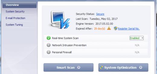 V3 Internet Sercurity