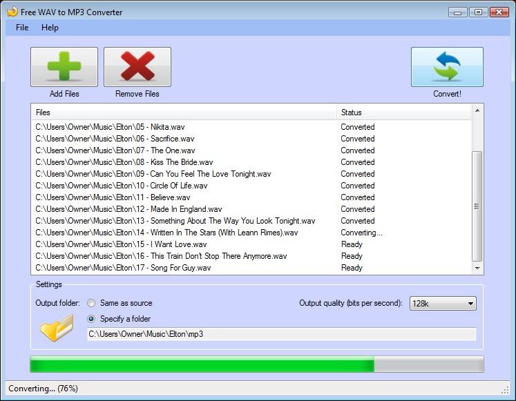 Free Mp3 To Wav - CNET Download