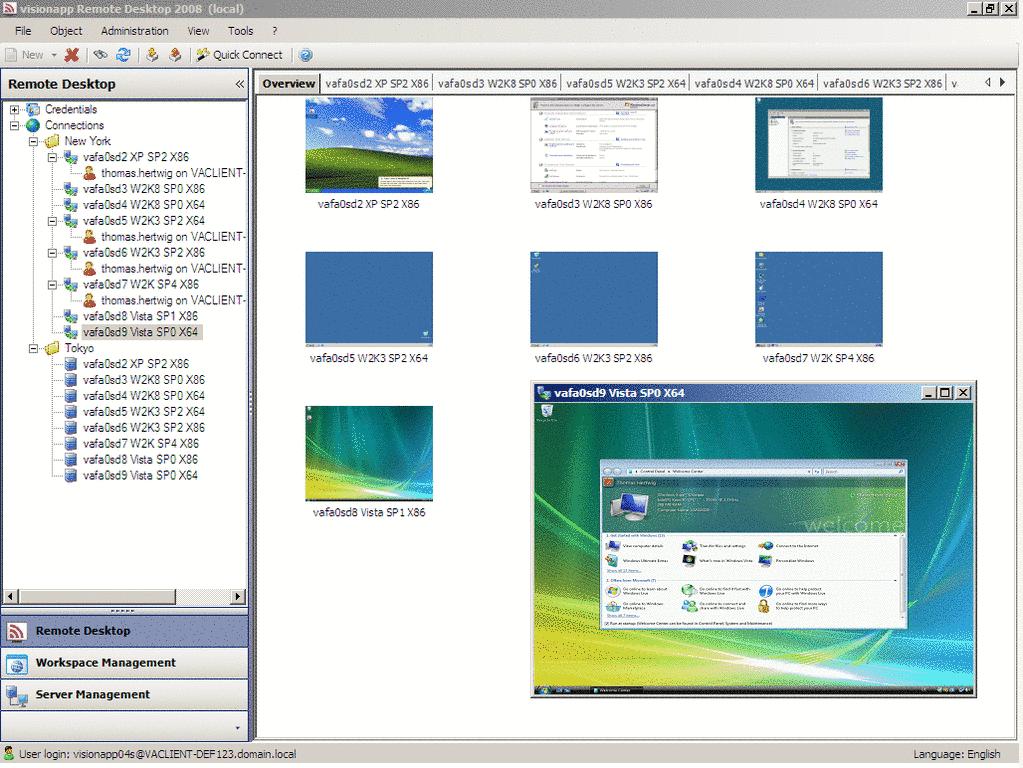Download visionapp Remote Desktop 2010 kostenlos bei NowLoad
