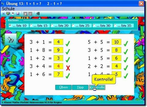 Mathe 1 Klasse Online Kostenlos