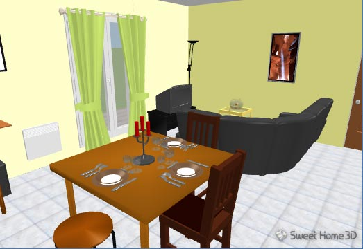 download sweet home 3d 3 0 kostenlos bei nowload. Black Bedroom Furniture Sets. Home Design Ideas