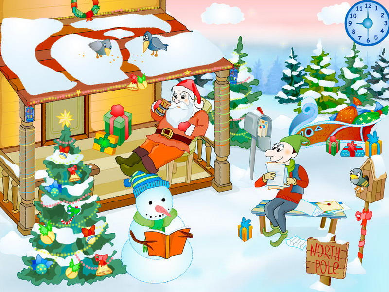 Download Christmas Yard Screensaver 1.0 kostenlos bei NowLoad